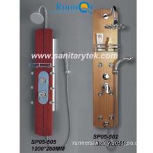 Wooden Shower Panel & Bathroom Shower Column (SP05-502, SP05-505)