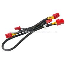 Arnés de alta calidad de la fuente de alimentación PCI-E