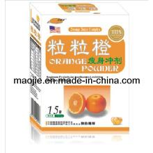 Meilleurs aliments santé poids perte produit Orange poudre (MJ-15 sachets)