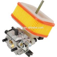 carburador para cortador de matorrales y filtro de aire de papel hecho en zhejiang