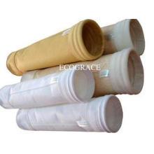 Steel Melting Furnace Smoke Filters , Alkali Resistance P84