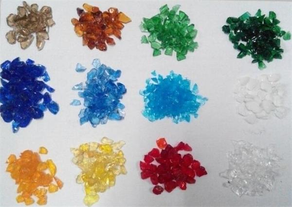 Beauty glass beads for aquarium decoration