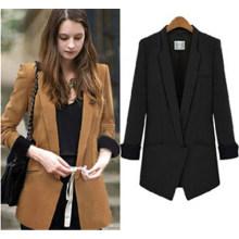 Venda quente de alta qualidade na moda ternos de negócio para as mulheres (50011)