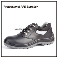 Dual Density PU Injection Genuine Leather Safety Shoes