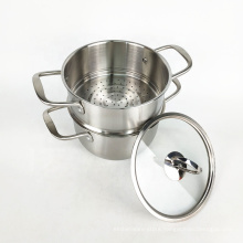commercial 24cm stainless steel pasta cooker double boiler pot