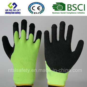 Nylon Latex Labor Gloves Latex Glove