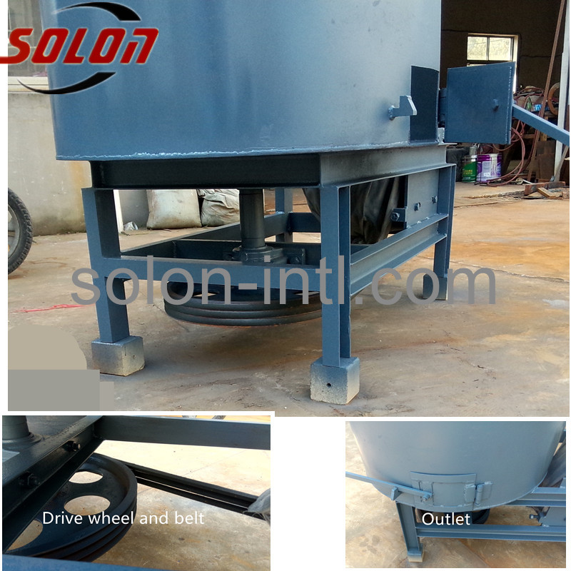 wood powder glue blender for making wood pallets