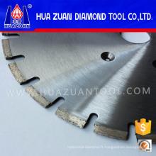 Disques horizontaux de coupe de bonne qualité de 400mm Huazuan pour la coupe de marbre
