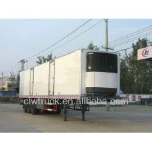 2015 fábrica de la oferta clw Gran capacidad frigorífica caja semirremolque