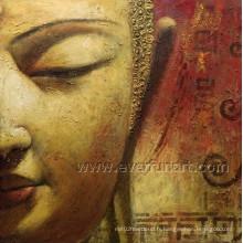 Peinture à l'huile de Bouddha de haute qualité à la peinture de visage de Bouddha (BU-024)