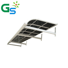 Aluminum window awning polycarbonate canopy door canopy outdoor rain shed roof sunshade