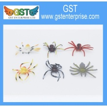 Realistic Plastic Colored Spiders Assortment