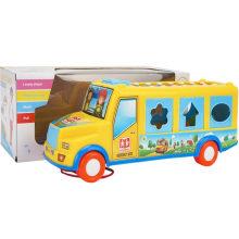 Educativo Knock clave autobús escolar musical de juguete