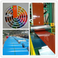 Nippon Lacquer 0.45mm Thickness Ral5015 Color Coated Steel Coil