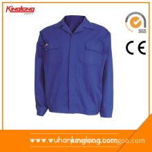Poland Normal Style Blue Work Uniform Jacket