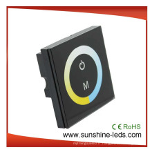 Régulateur de LED à éclairage de température de couleur à écran tactile 4A, gradateur
