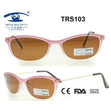 Promotional High Quality Beautiful Tr Sunglass (TRS103)