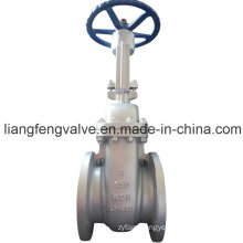 API Rising Stem Flange End Gate Valve with Carbon Steel RF