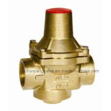 Brass Adjustable Pressure Reducing Valve Pn16 for Water (Y718)