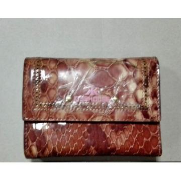 Guangzhou Lieferant Echtes Leder Mini Geldbörse Geldbörse (W185)