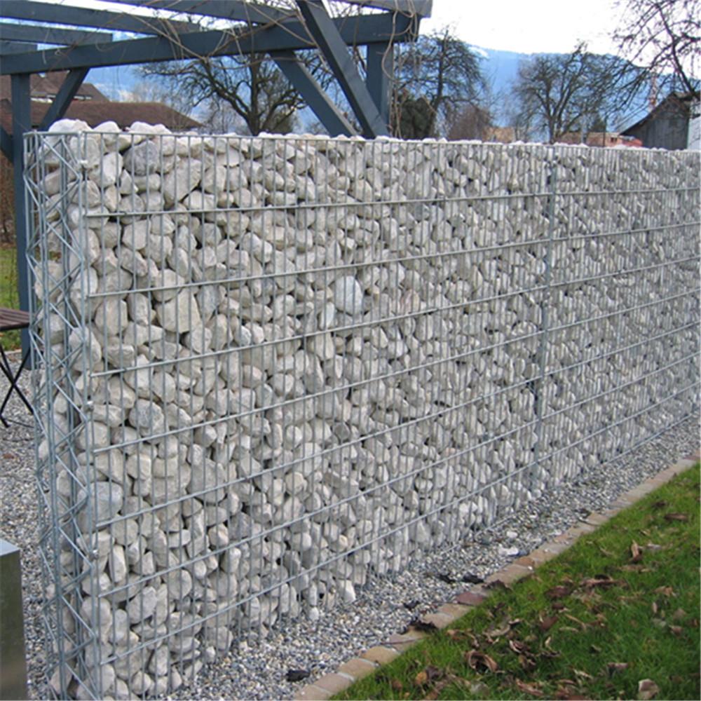 Welded Retaining Stone Gabion Wall China Manufacturer