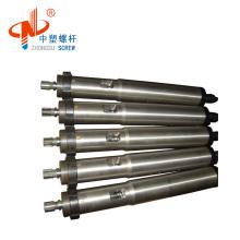 plastic injection machine bimetallic single screw barrel