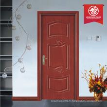 Porte d'acacia / porte de chêne foncé / porte intérieure avec un bois / finition peinte ou apprêtée