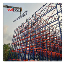 Warehouse Clad Rack Building System Full-Automatic Storage for Food Industry