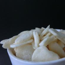 El mejor ajo frito al vacío (escamas / gránulos)