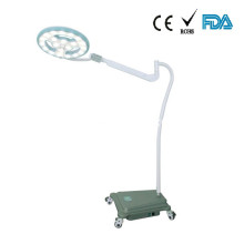 Led mobile operating lamp with battery