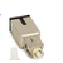 Atenuador fijo tipo SC de fibra óptica