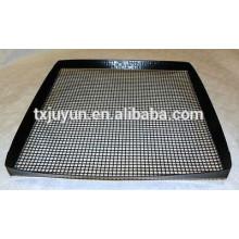 ПТФЭ с покрытием из стеклоткани с антипригарным покрытием с решетчатой решеткой