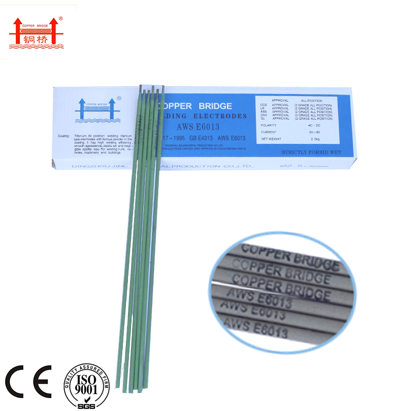 High+Quality+Copper+bridge+Brand+Welding+Electrode+E6010
