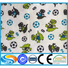 Tela de franela de algodón para la ropa de bebé, pañal, ropa de cama