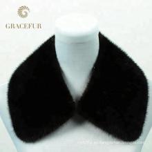 Fabricación excepcional real rex rabbit fur collar Precio competitivo
