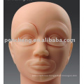Mannequin Head with Inserts for permanent makeup machine