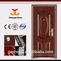 Anti-theft top security modern residential steel doors