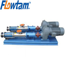 stainless steel electric transporting Screw pump