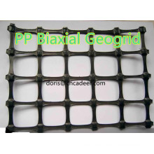 40kn Biaxial Polyester Soil Reinforcement Geogrid with Factory Prices