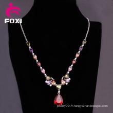 Dernière conception or collier pendentif bijoux