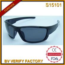 Moda 2015 Italia diseño gafas de sol deportivas con muestra gratis (S15101)