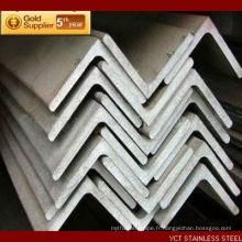 AISI 409 Angle en acier inoxydable brossé de haute qualité