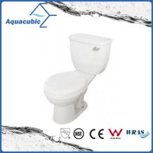 Siphonic Two Piece Single Flush 1.28gpf Elongated Toilet (ACT9008B)
