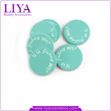 Schönheit kostenlose Probe Make-up Produkte Logo drucken Nbr Latex Make-up Schwamm