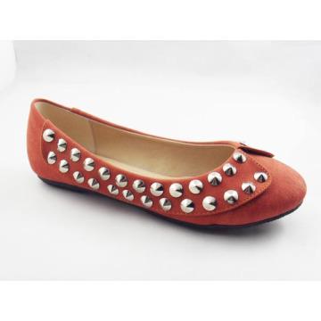 Zapatos planos del vestido de las nuevas mujeres del estilo (HCY03-134)