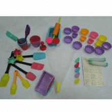 Silicone Kid Cookware, Various Color is Available