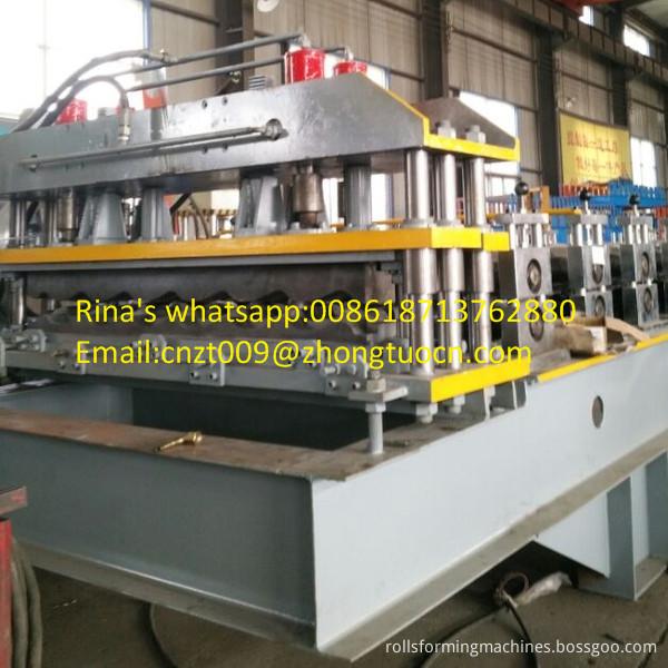 steel sheet roof sheet roll forming machine line 17