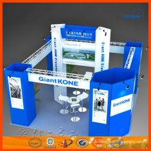 20 'x 20' quatre côtés ouvrent le stand d'exposition de stand de Changhaï fournisseur