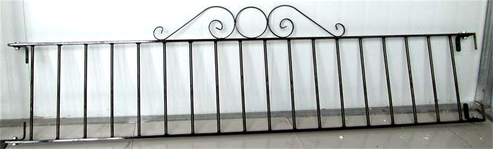 Powder coated Garden fence