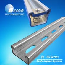 Fábrica de Linha Cooper B na China Unistrut Standard Steel Strut Channel